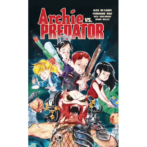 Archie Vs Predator - Édition Collector Exclusive 250 ex - Dustin Nguyen (VF)