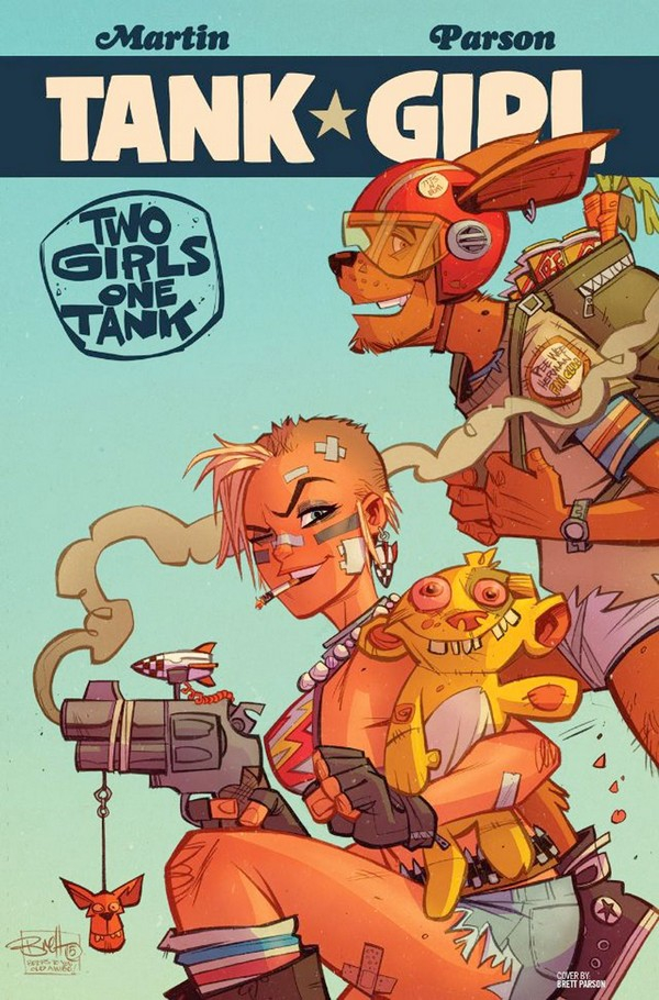 Tank Girl : Two Girls One Tank (VF)