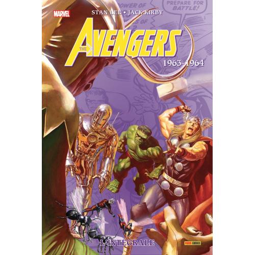 Avengers L'intégrale 1963-1964 (Nouvelle Édition) (VF)