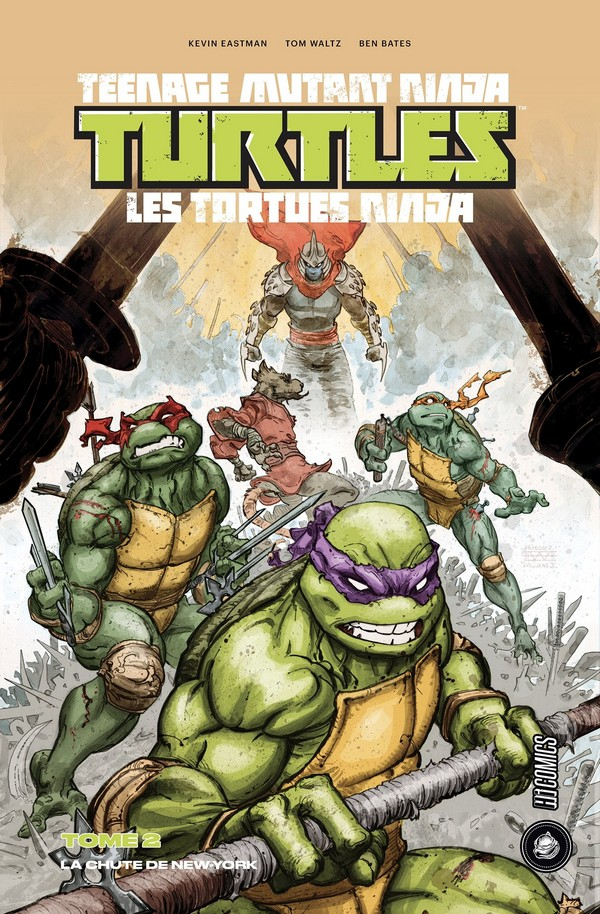 Teenage Mutant Ninja Turtles Tome 2 - La Chute de New-York (1/2) (VF)