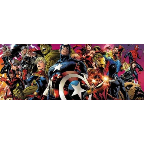 AVENGERS HS 1 : MARVEL LEGACY EDITION COLLECTOR ORIGINAL COMICS Couverture 4 VOLETS par JOE QUESADA - 700 EX