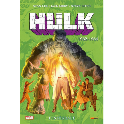 Hulk Intégrale Tome 1962-1964 (VF)