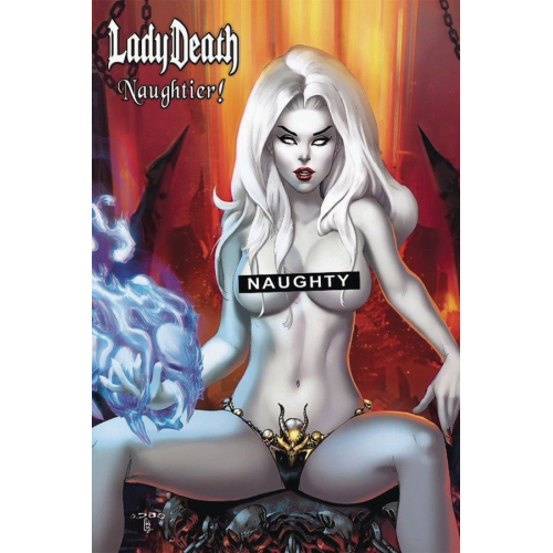 LADY DEATH NAUGHTIER LTD ARTBOOK HC EBAS (VO)