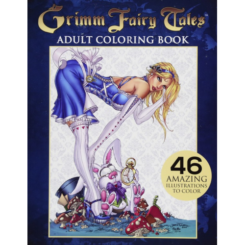 Grimm Fairy Tales Adult Coloring Book (VO)