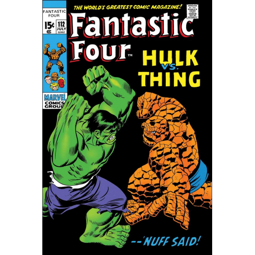 FANTASTIC FOUR HULK VS THING 1 (VO)