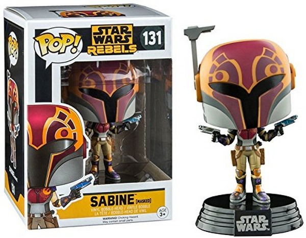 FUNKO POP Star Wars Rebels Sabine