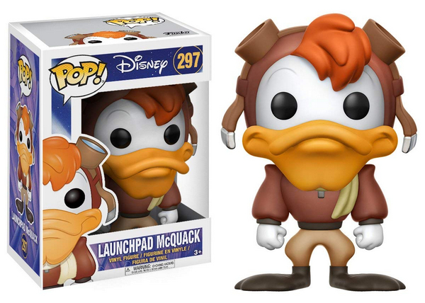 FUNKO POP Disney Launchpad McQuack