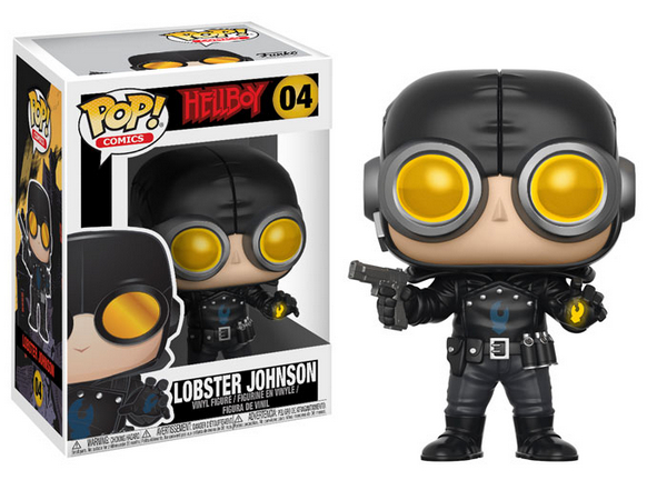 FUNKO POP Hellboy Lobster Johnson