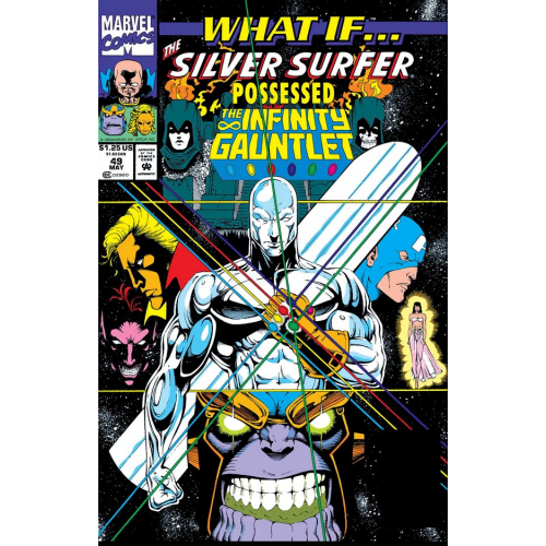 WHAT IF SILVER SURFER POSSESSED GAUNTLET 1 (VO)