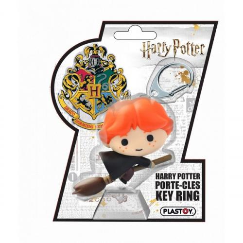 Porte Clé Chibi Ron Weasley - Plastoy