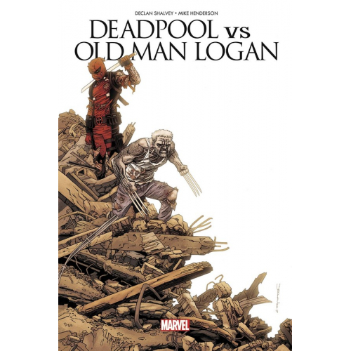 Deadpool Vs Old Man Logan (VF)