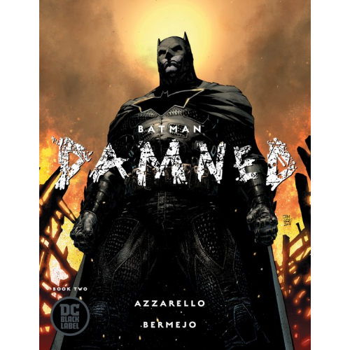 BATMAN DAMNED 2 JIM LEE VARIANT (VO)