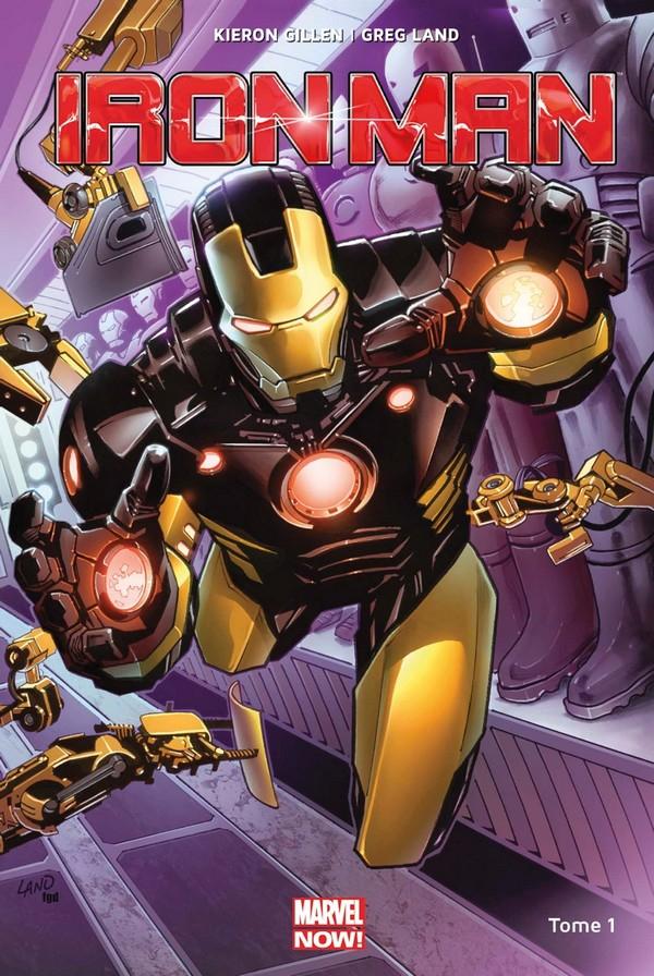 Iron Man Marvel Now Tome 1 (VF)