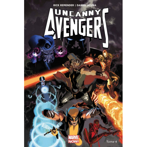 Uncanny Avengers Tome 4 (VF) occasion