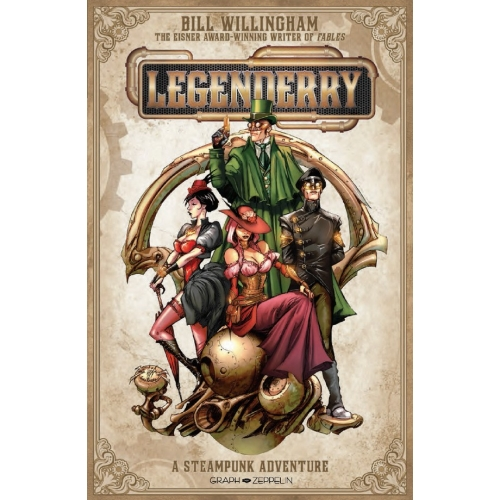 Legenderry L'aventure Steampunk (VF) occasion
