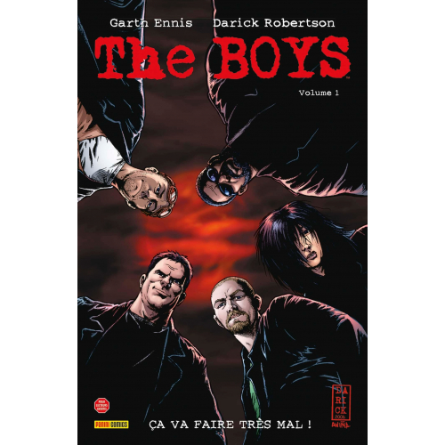 THE BOYS Tome 1 (VF)