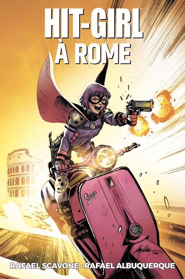 Hit Girl Tome 3 - Hit Girl à Rome (VF)
