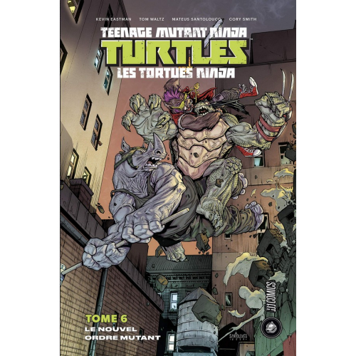 Les Tortues Ninjas Tome 6 (VF)