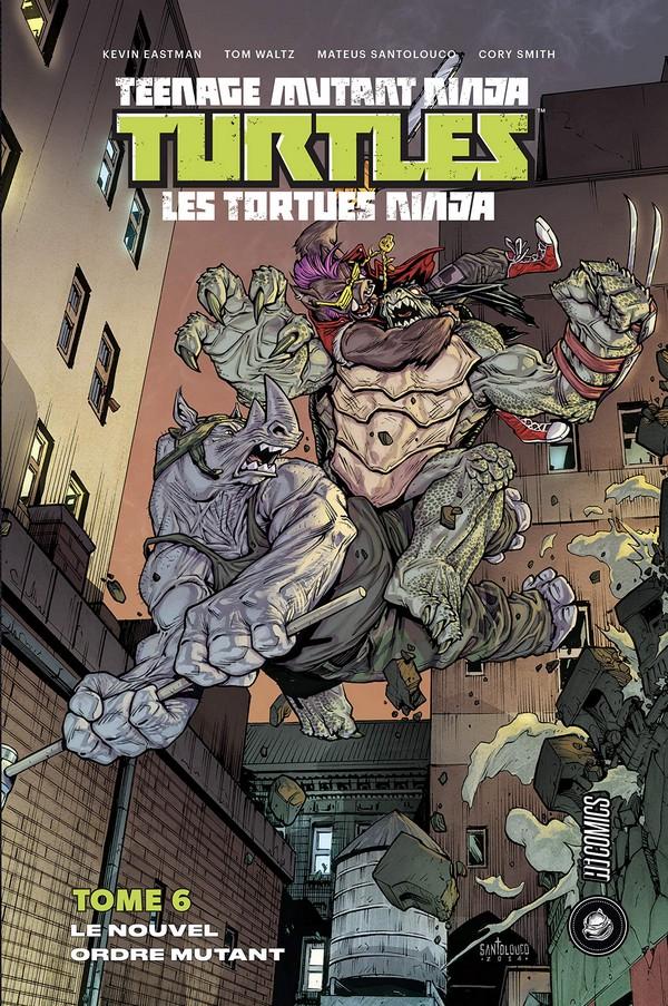 Teenage Mutant Ninja Turtles Tome 6 (VF)