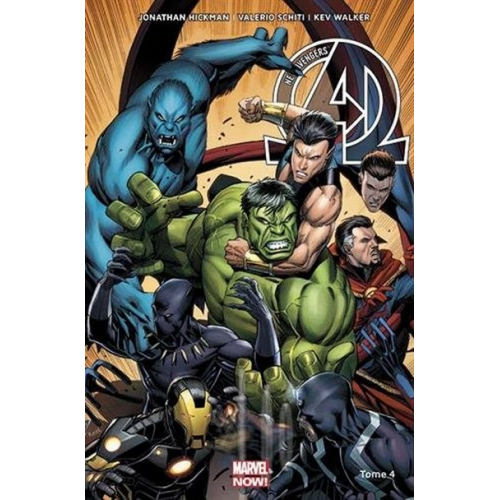 NEW AVENGERS MARVEL NOW Tome 4 (VF) occasion