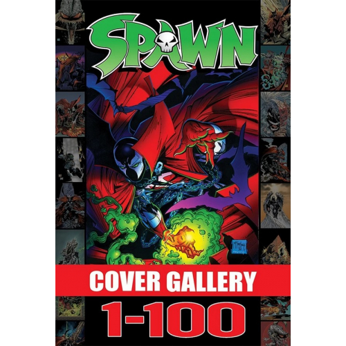 SPAWN COVER GALLERY, VOL. 1 HC