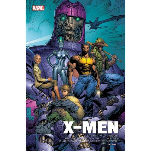 X-MEN PAR MORRISON BACHALO QUITELY & SILVESTRI TOME 2 (VF)