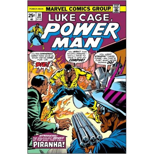 LUKE CAGE POWER MAN PIRANHA 1 (VO)