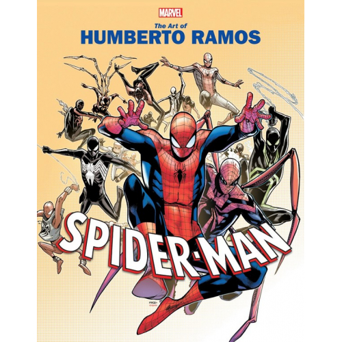 MARVEL MONOGRAPH TP ART OF HUMBERTO RAMOS (VO)