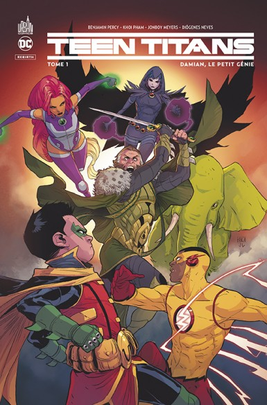 Teen Titans Rebirth 1 (VF)