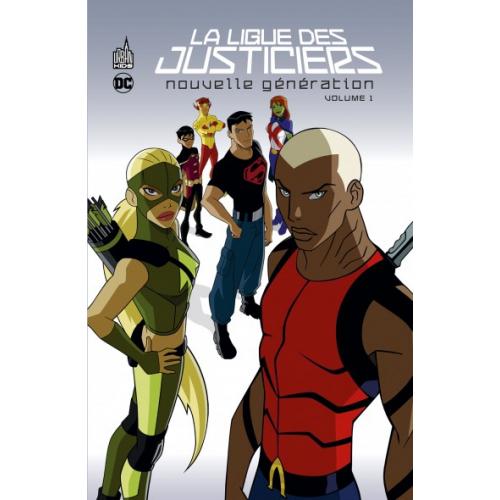 La ligue des justiciers – Nouvelle génération Tome 1 (VF)