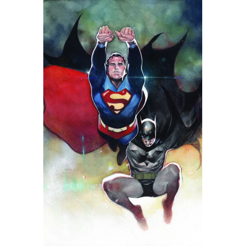 BATMAN/SUPERMAN 4 COIPEL CARDSTOCK VARIANT(VO)