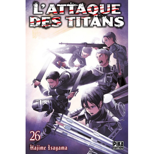 L'attaque des Titans Tome 26 (VF)