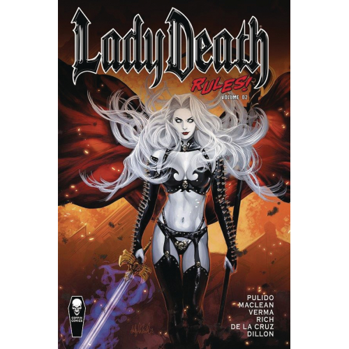LADY DEATH RULES HC VOL 02 (VO)