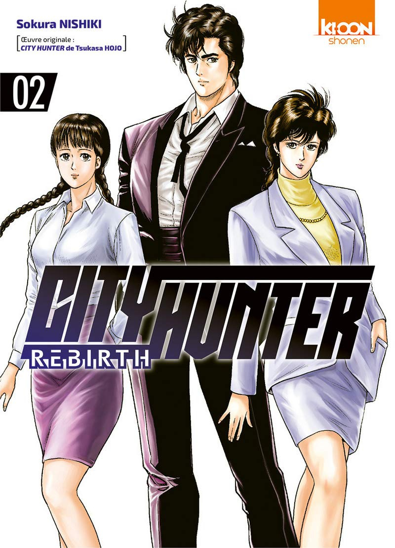 City Hunter Rebirth Tome 2 (VF)
