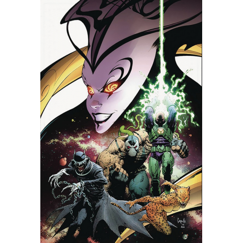 YEAR OF VILLAIN 1 signé par SCOTT SNYDER (VO)