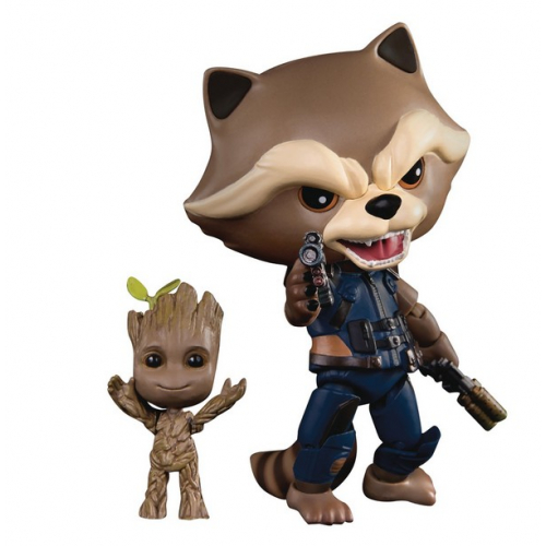 Guardians of the Galaxy Vol. 2 Egg Attack Action Figure Rocket Raccoon & Groot 1