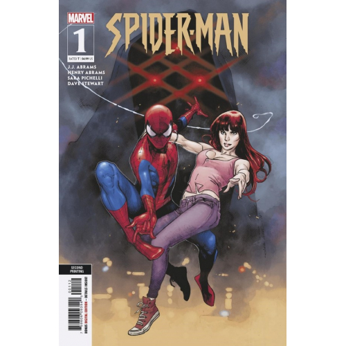 SPIDER-MAN 1 (VO) J.J. ABRAMS - 2nd PRINT