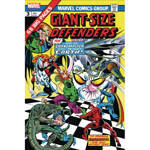 GIANT-SIZE DEFENDERS 3 FACSIMILE EDITION (VO)