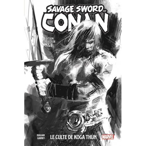 THE SAVAGE SWORD OF CONAN TOME 1 Ed. collector N&B (VF)