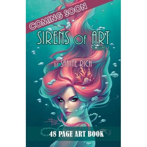 Sabine Rich : Sirens of Art Vol. 1 (Artbook) signé