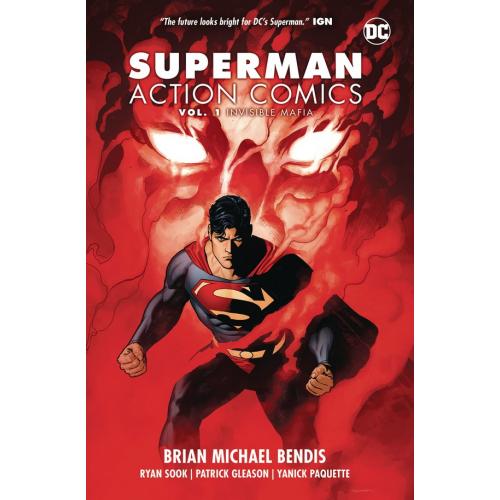 SUPERMAN ACTION COMICS TP VOL 01 INVISIBLE MAFIA (VO)