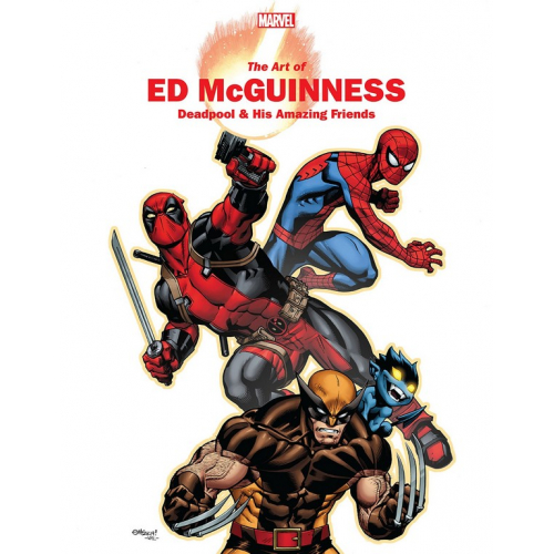 MARVEL MONOGRAPH TP ART OF ED MCGUINNESS (VO)