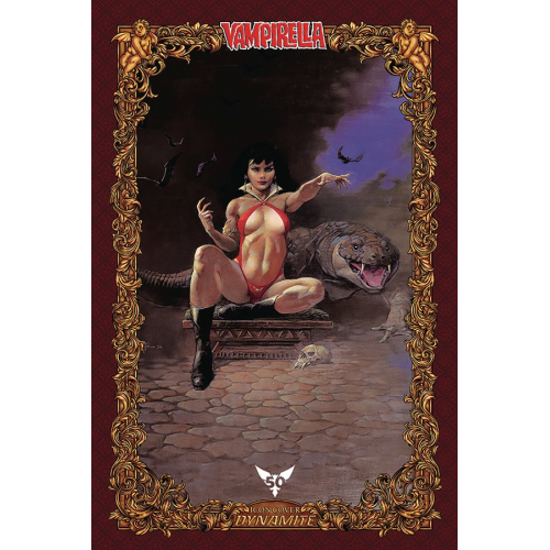 VAMPIRELLA 6 75 COPY FRAZETTA ICON INCV (VO)