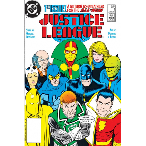 DOLLAR COMICS JUSTICE LEAGUE 1 (1987) (VO)