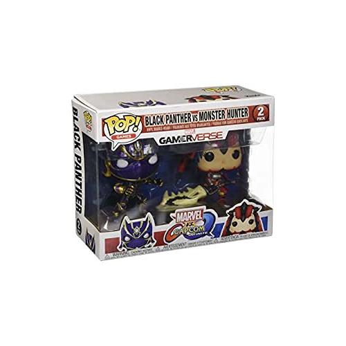FUNKO POP Marvel GamerVerse - Black Panther vs Monster Hunter