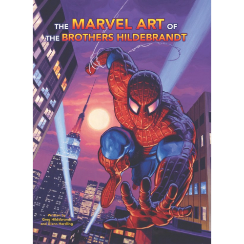 MARVEL ART OF BROTHERS HILDEBRANDT HC (VO)