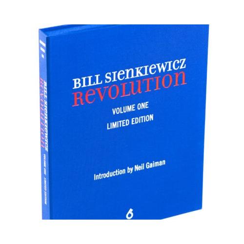 BILL SIENKIEWICZ REVOLUTION HC Limité et Signé (VO)
