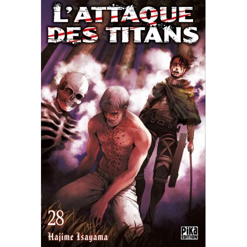 L'attaque des Titans Tome 28 (VF)