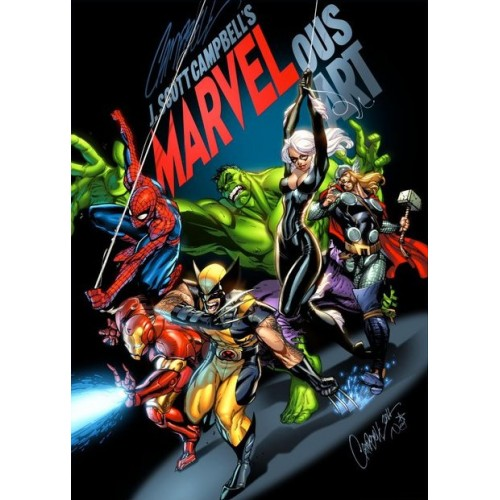 Marvelous Art Vol. 1 - Artbook - J. Scott Campbell (2011)