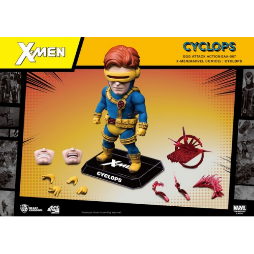 Figurine Egg Attack Action X-Men Cyclops
